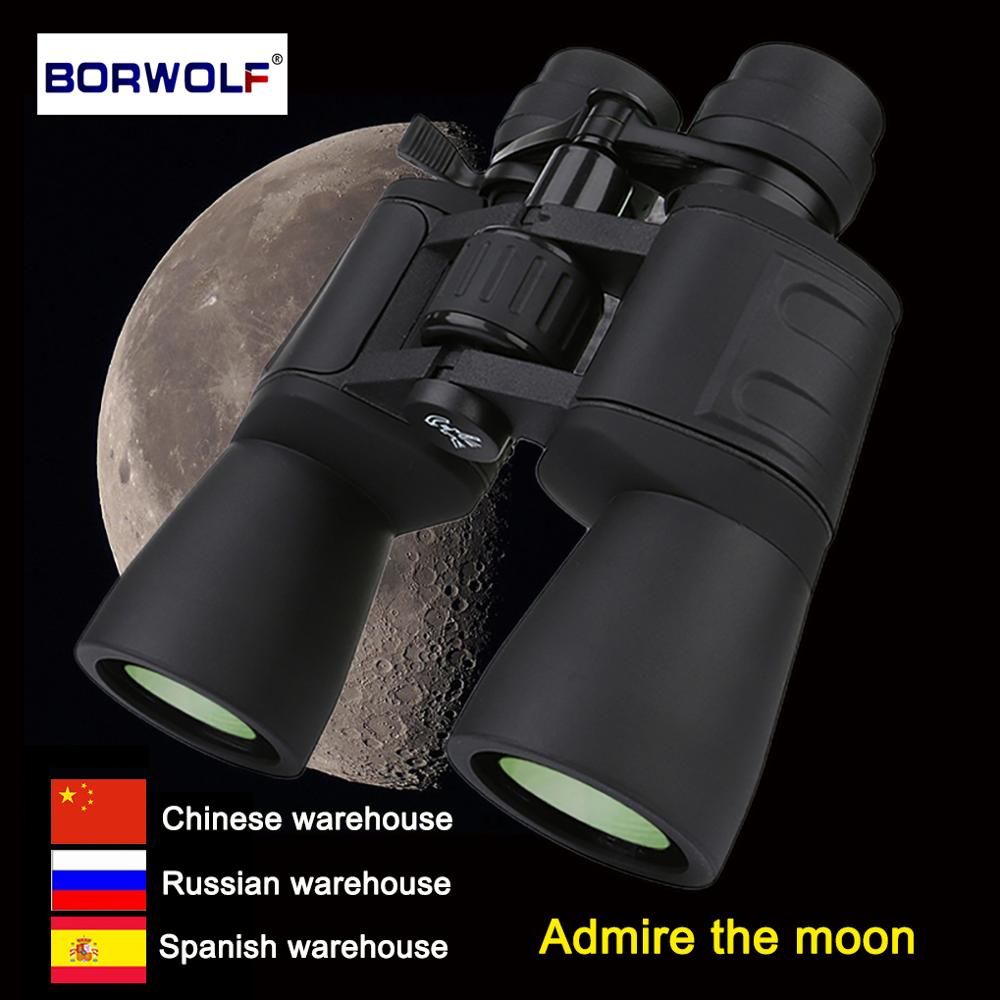 Borwolf 10-180X90 High Magnification HD Professional Zoom Powerful Binoculars Light Night Vision For Hunting Telescope Monocular