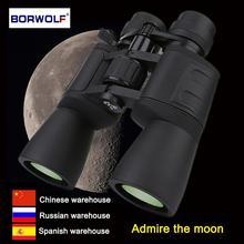 Borwolf 10-180X90 с высоким увеличением HD профессиональный зум мощный бинокль свет ночного видения для охоты телескоп Монокуляр