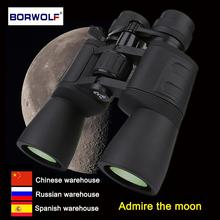 Borwolf 10 180X90 High Magnification HD Professional Zoom Powerful Binoculars Light Night Vision for HuntingTelescope Monocular