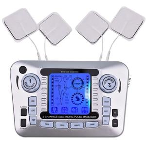 Image 5 - 20 livelli di Decine di Unità di Macchina con 10 Elettrodi per Alleviare Il Dolore di Massaggio di Impulso di SME Stimolazione Muscolare Del Corpo di Agopuntura di Massaggio