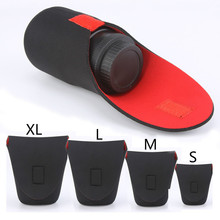 CamDress Wear-resistant Camera Lens Bag Neoprene Waterproof Pouch Case shock absorption DSLR