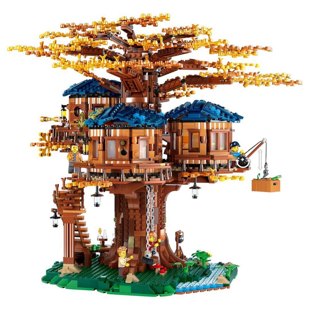 In Stock 21318 New Tree House The Biggest Ideas Model Building Blocks Bricks Kids Educational Toys Lepining Technic Gifts