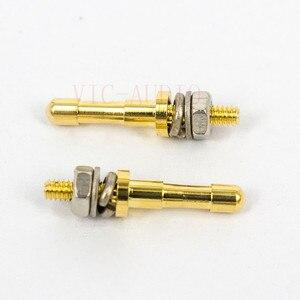Image 3 - DIY HIFI Turret lug Audio Strip Tag Board Turret Board Terminal Lug Board For Tube Amplifier Kit DIY Copper Plated Gold Turrets