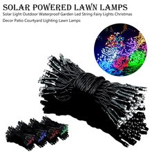 Night Lights Solar Light Outdoor Waterproof Garden Led String Fairy Lights Christmas Decor Patio Courtyard Lighting Lawn Lamps(China)