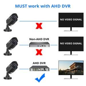 Image 2 - Hiseeu AHDH 1080P מתכת מקרה AHD אנלוגי בחדות גבוהה מתכת מצלמה AHD CCTV מצלמה אבטחה חיצוני משלוח חינם AHBB12