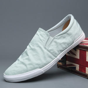 Men's Shoes Cloth Spring Canvas Korean-Version Solid-Color Casual Fashion New And Summer