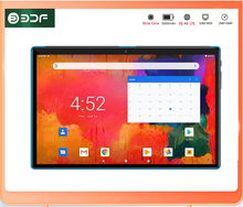 10.1 Inch Android 10.0 Tablet 8-Core A55 Processor IPS 7mm Narrow Side 2.5D Touch Screen 4GB+64GB Bluetooth Wi-Fi GPS Type-C