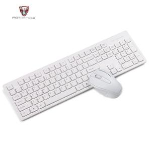 Image 1 - Motospeed G4000 2.4G لوحة مفاتيح وماوس لاسلكية كومبو بيئة العمل USB 2.0 1000 ديسيبل متوحد الخواص الماوس 104 مفاتيح المجلس