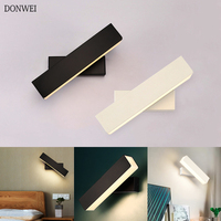 Criativo moderno E Minimalista Quarto lâmpada de Cabeceira lâmpada de Parede 10 cm/26 cm/30 cm 360 graus Rotatable Parede luz para Decoração de Interiores