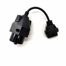 1pc obd ii adaptador para bmw 20 pinos para obd2 16 pinos conector fêmea e36 e39 x5 z3 para bmw 20pin mais novo frete grátis