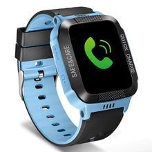 Y21S Kids Children Smart Watch Positioning Tracker Locating SOS Camera Phone Call Flashlight Baby Safety Child Smartwatch 2019