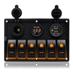 Запасные части для панели кулисного переключателя водонепроницаемые 18,2 см x 12 см x 7,5 см аксессуары для автомобиля Морская Лодка