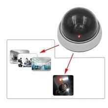 CCTV Camera 1/3″ Home Safe Surveillance Camera Flashing LED Light White Dummy Dome CCTV Security