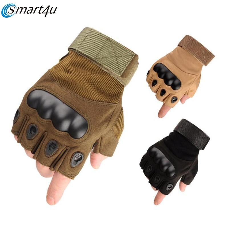 2019 Спортивные Перчатки для мотоциклистов с полупальцами и жесткими костями пальцев, мотоциклетные перчатки для мотокросса, гоночные