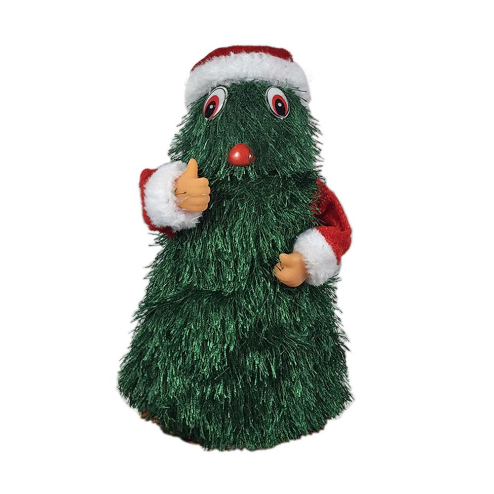 Fashion Cute Christmas Electric Toys Dancing Santa Claus Hot Selling Personality Durable Safety Kids Gift Decorations Game Props