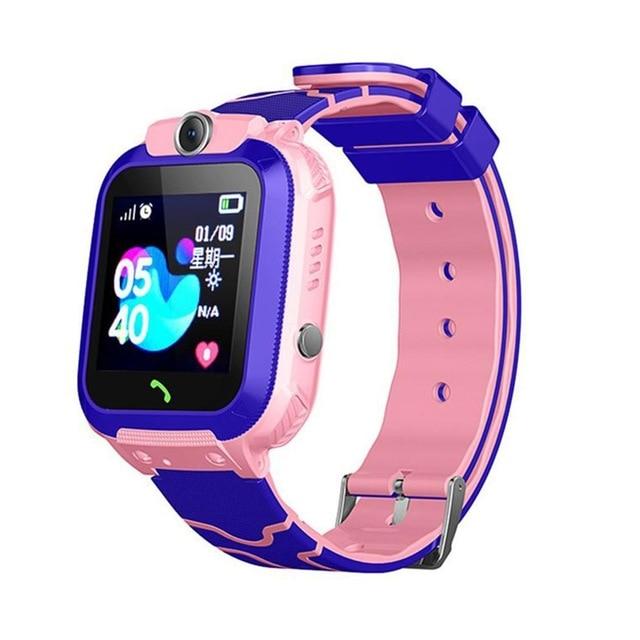 Q12B Children's Smart Watch Phone Waterproof LBS Smartwatch Kids Positioning Call 2G SIM Card Remote Locator Watch Boys Girls 4.