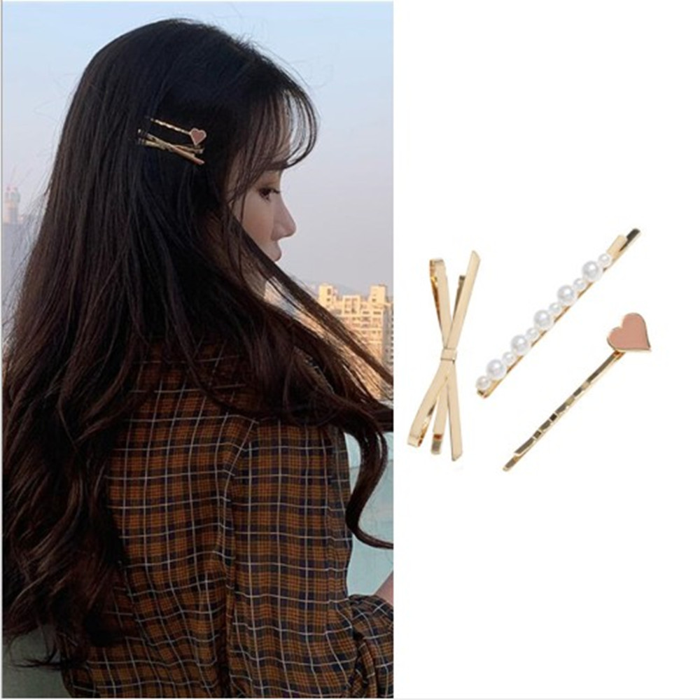 accessoires frauen haare clips pearl haarnadeln bobby pin mädchen haarspange