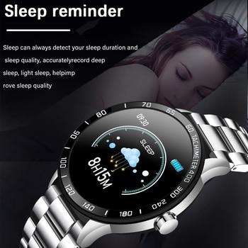 Lige new smart watch men pedometer