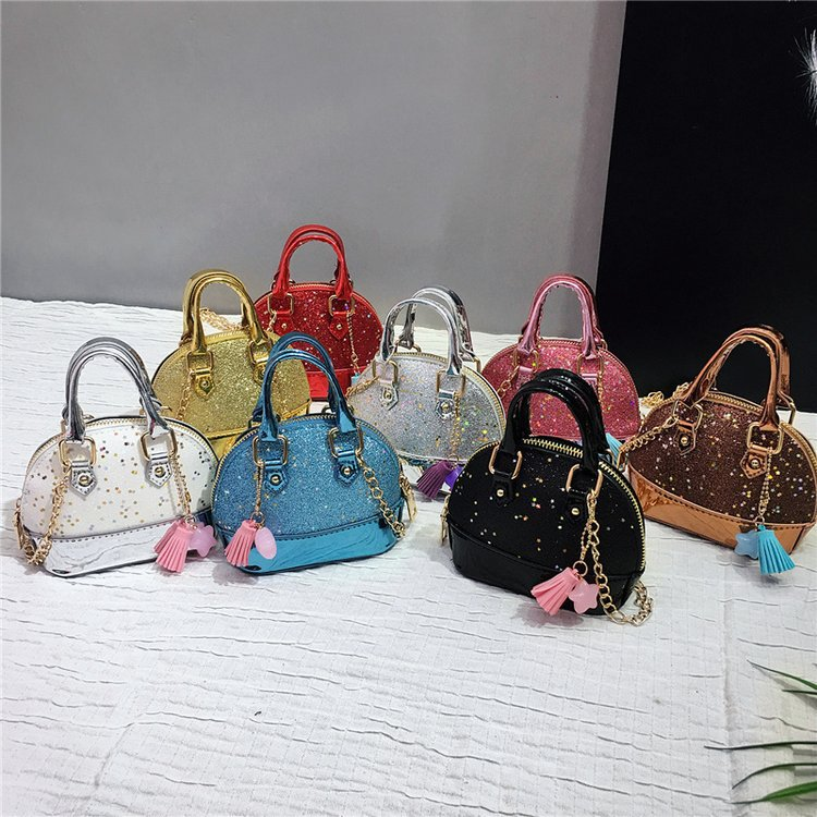 New Spangled Mini Women Bag 2020 High Quality Pu Leather Shoulder Bag For Female Fashion Women Tote Bag Luxury  Crossbody Bags