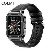 COLMI-reloj inteligente Land 2S para hombre, dispositivo resistente al agua IP67, con Monitor de ritmo cardíaco, para teléfono Android, 2020