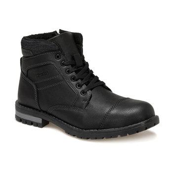 FLO STROM czarne męskie buty KINETIX tanie i dobre opinie Podstawowe Sztuczna skóra ANKLE