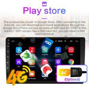 Image 3 - 4G + 64G Android 9.0 Lettore DVD Dellautomobile Per Peugeot 307 307CC 307SW 2002 2013 Auto Radio GPS di Navigazione Lettore CarPlay RDS IPS 2DIN