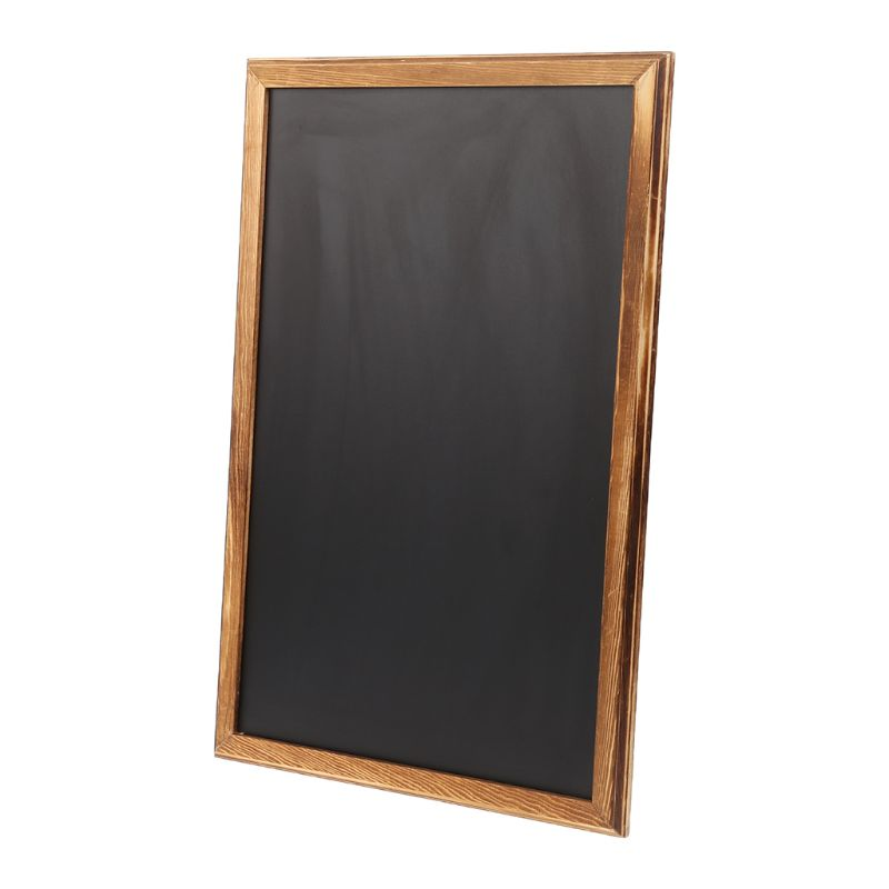 Rectangle Hanging Wooden Message Blackboard Chalkboard Wordpad Sign Kids Board