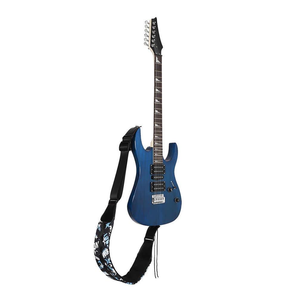 جيتار كهربائي حزام الكتف حزام أكسفورد نسيج سميكة واسعة طول قابل للتعديل ل باس الصوتية الغيتار الكهربائي الملحقات