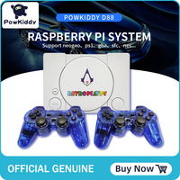 POWKIDDY D88 HDMI Raspberry Pie 30 Simulator Retro Player video game Console 3D NEW Games Bulit In 7000 Games double gamepads