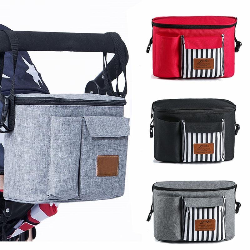 SeckinDogan Baby Stroller Bag Baby Stuff Nappy Bag Stroller Organizer Diaper Bag Multifunctional Waterproof Mummy Bags