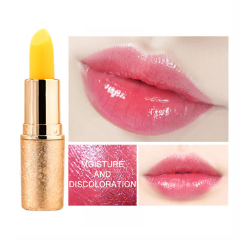 QIC Lip Balm Color Changing Moisturizer Lipstick Lips Makeup Base Nutritious Repair Discoloration Tint Lipbalm Pen Make up Gloss image