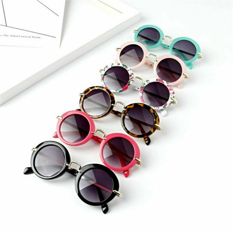 2019 Baby Anti-UV400 Sunglasses Accessories Stylish Child Kids Boys Girls Children Goggles Retro  Fashion Kids Props Gifts Glass