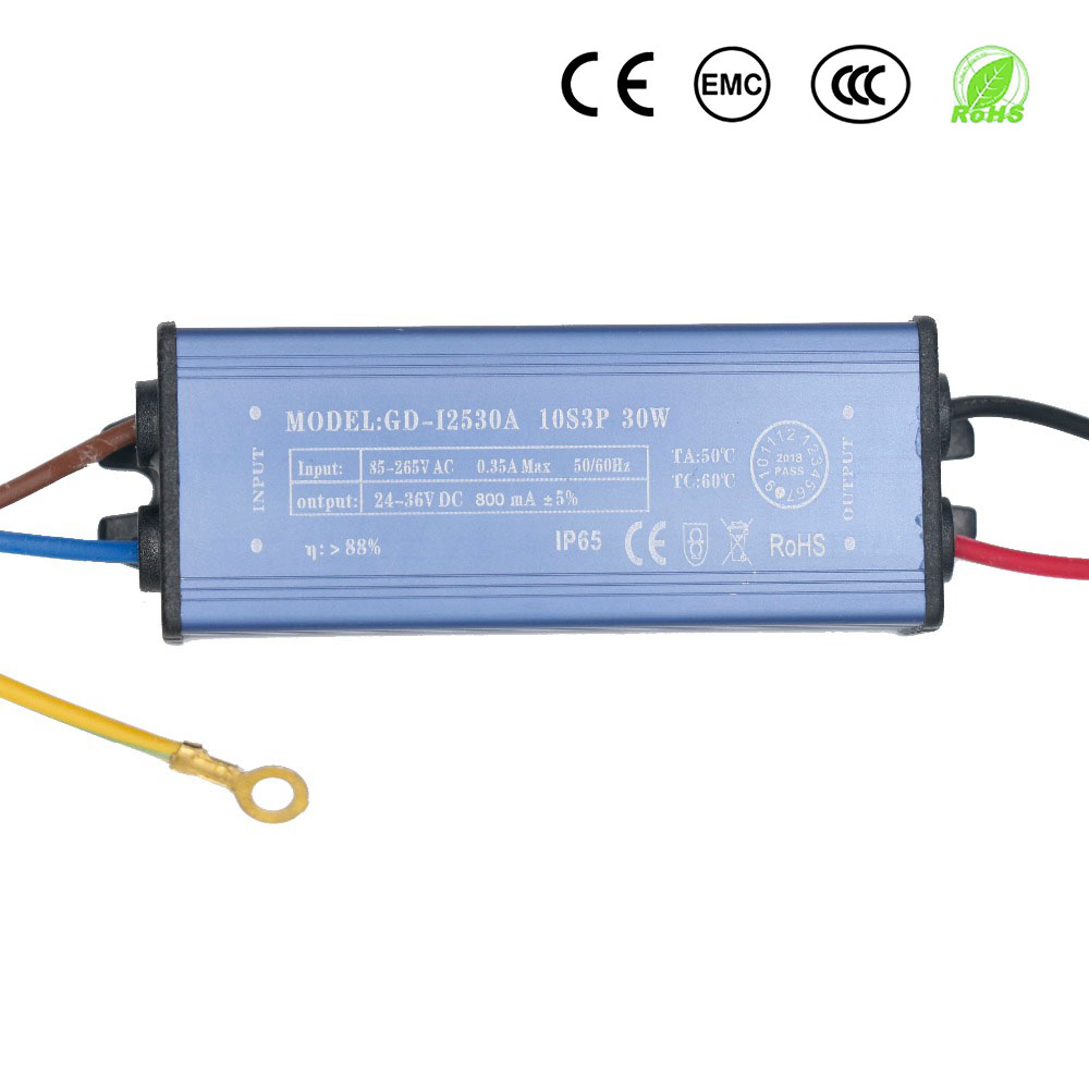 30W 50W 100W 150W 300mA 630mA 900mA LED Driver For LEDs  Power Supply Constant Current Voltage Control Lighting Transformers