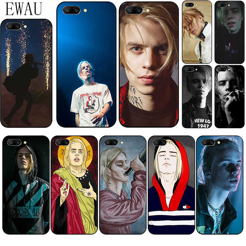EWAU Pharaoh Rapper Silicone phone case for Huawei Honor 6A 7A Pro 7C 7X 8X 8C 8 9 Note 10 Lite view 20 9X pro