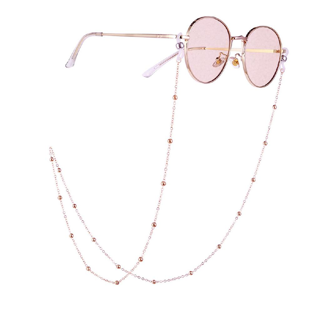 2019 New Fashion Eye Glasses Sunglasses Beading Vintage Chain Holder Lanyard Necklace Sunglasses Necklace Eyeglass Lanyard Strap