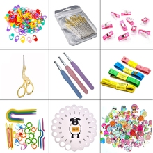 35 Styles Sewing Accessories Stitch Makers Scissors DIY Needles Arts Craft Rulers Tools For Crochet Hooks