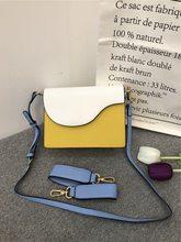 2020 novo estilo cor correspondência sacos de ombro senhora crossbody bagas moda feminina aleta sacos