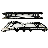 Changeable Frame Cadomotus Comp TR S Chassis 3*100&4*90 / 3*110&4*100 /3*125&4*110mm 165 195mm Distance Speed Inline Skate D020