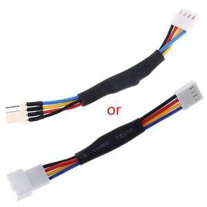 27Ω PC Case Fan RPM Speed Reduction Silent Connector Resistor Cable Quiet Mode B2QF