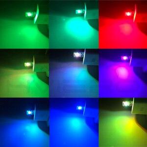 Image 4 - 車のusbドーム読書ライト音楽再生調光対応led雰囲気装飾ランプ緊急電球プラグプレイのrgb音声トランクランプ