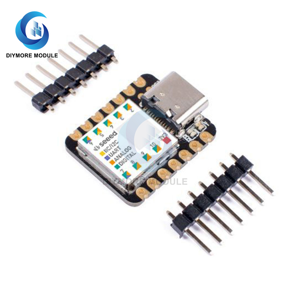 Type-C для XIAO Microcontroller SAMD21 Cortex M0 + Nano SAMD21 32 бит 48 МГц SPI I2C интерфейс для Arduino IDE IoT носимое устройство