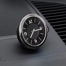1x logotipo do relógio de carro acessórios painel decoração interior para chevrolet cruze malibu blazer traverse equinox sonic captiva ave