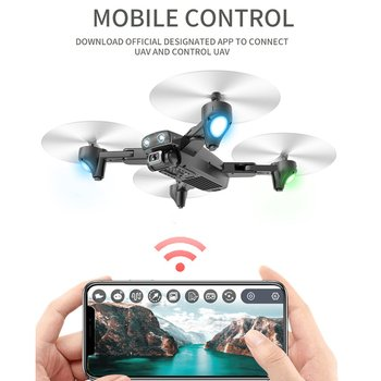 S167 2.4G/5G WIFI FPV 720P/1080P HD Camera GPS 120 Degree Wide-angle Drone Foldable RC Four-axis Aircraft with Battery syma official x8g dron with camera hd wide angle 2 4g 4ch 6 axis with 8mp 360 degree rotating rc drone rc gift quadrocopter
