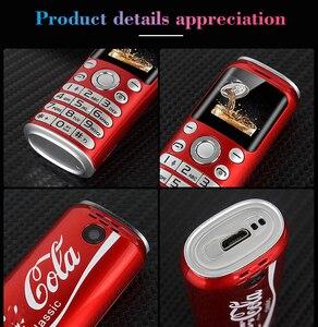 "Image 3 - Neueste SATREND K8 Mini Push Taste Handy Dual Sim 1,0 ""Hände Kleinste China Günstige Telefon Bluetooth Kamera MP3 Telefon"