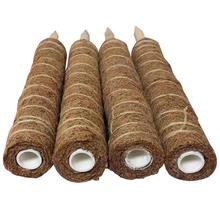 Кокосовая палочка для выращивания растений, безопасный садовый кокосовый пальмовый палочка для альпинизма растения лоза и криперы вспомогательные инструменты