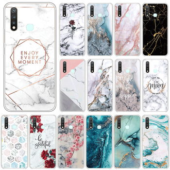Marble Case For vivo Y19 4G U3 Y5S Silicone Cover For vivoY19 Y 19 vivoU3 U 3 vivoY5S Y 5S 6.53 Phone Cases TPU Fundas Coque image
