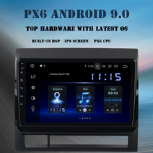 Android 9.0 Car multimedia player for Toyota Tacoma 2011 2012 radio GPS navigation PX6 DSP HDMI output IPS screen bluetooth WIFI