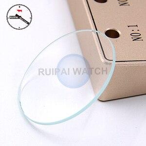 Image 1 - 50 ピース/ロット 35 ミリメートル 1.5 ミリメートルの厚さのミネラルガラス時計職人