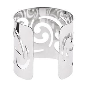 12 шт Металлическое кольцо с вырезами и текстурой для салфеток, кольца для свадебных подарков, украшения праздничного банкета, обеденного ст...