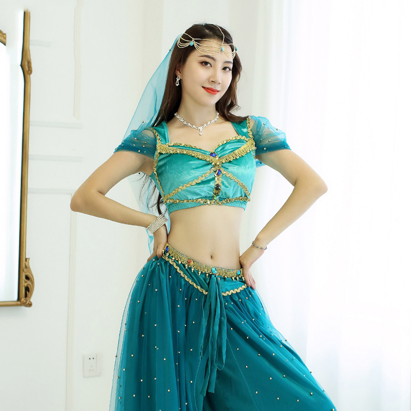 Belly Button Jewel Body Princess Dancer Halloween Costume Accessory 6 STYLES
